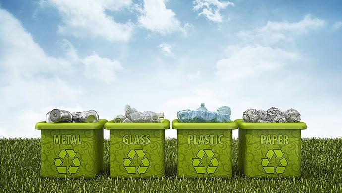 保护环境,垃圾分类,从我做起