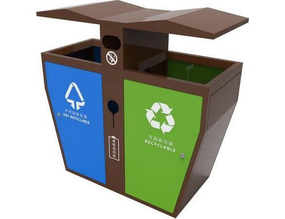可回收垃圾桶颜色