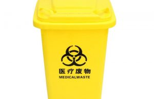 黄色医疗垃圾桶
