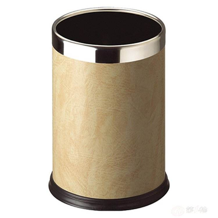 棕色湿垃圾垃圾桶