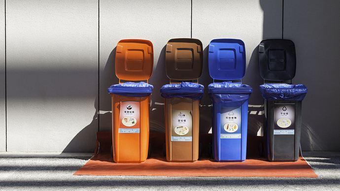 上海垃圾分类小区回收站点