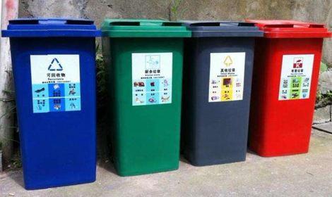 青岛城市生活垃圾分类投放点