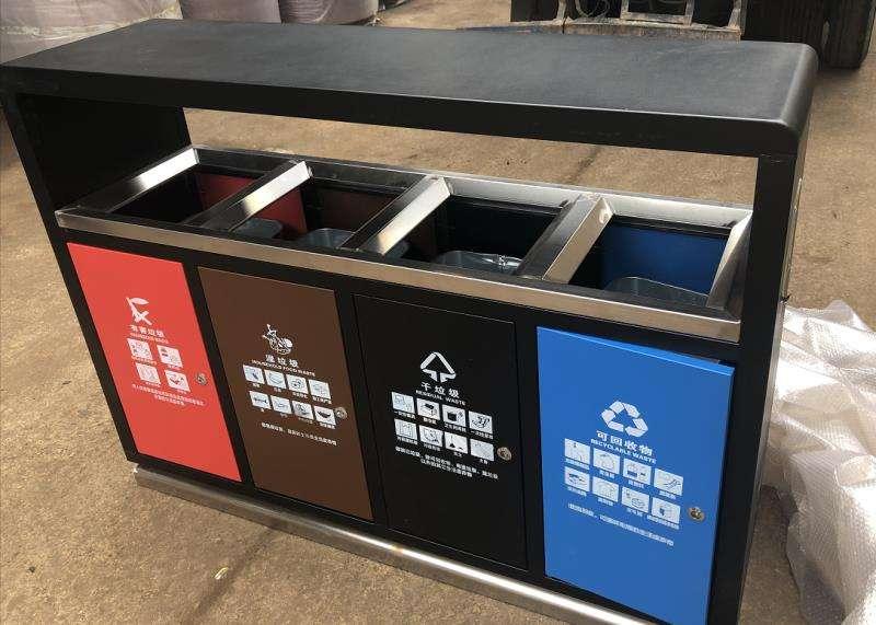 北京城市垃圾分类投放点