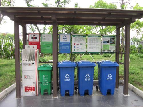 苏州垃圾分类小区收集站