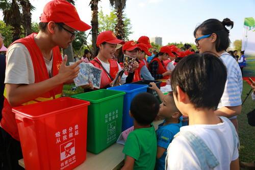 海口市垃圾分类小区培训活动