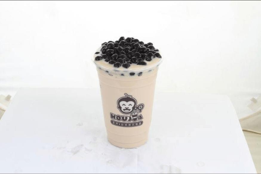 垃圾爱分类小编最喜欢喝的珍珠奶茶