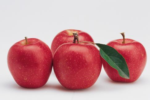 存放了很长时间的苹果