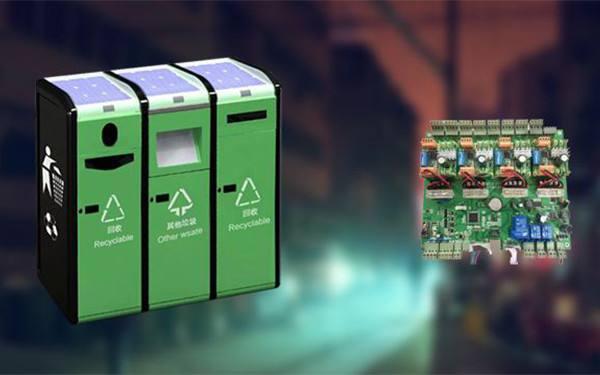 上海投放的人工智能垃圾分类机
