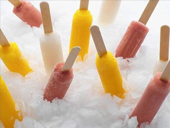 夏天的冰棍最为解渴和降温
