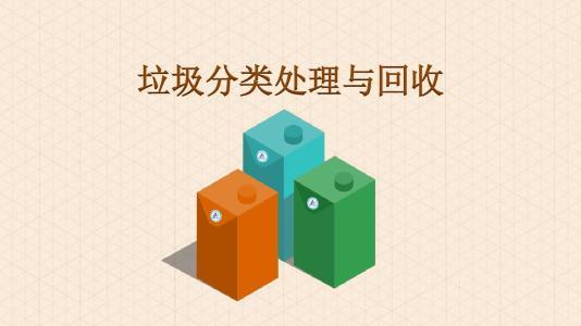 垃圾的分类处理与回收
