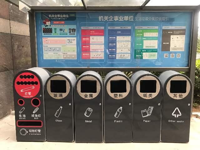 深圳市龙华区机关事务管理局积极开展机关单位生活垃圾分类示