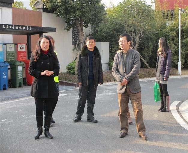 苏州市考核组赴光福镇检查垃圾分类处置工作