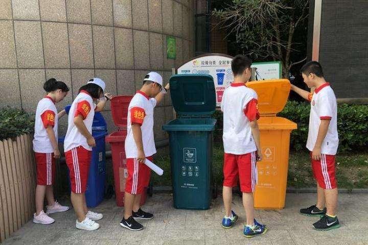 这群孩子用实际行动宣传垃圾分类