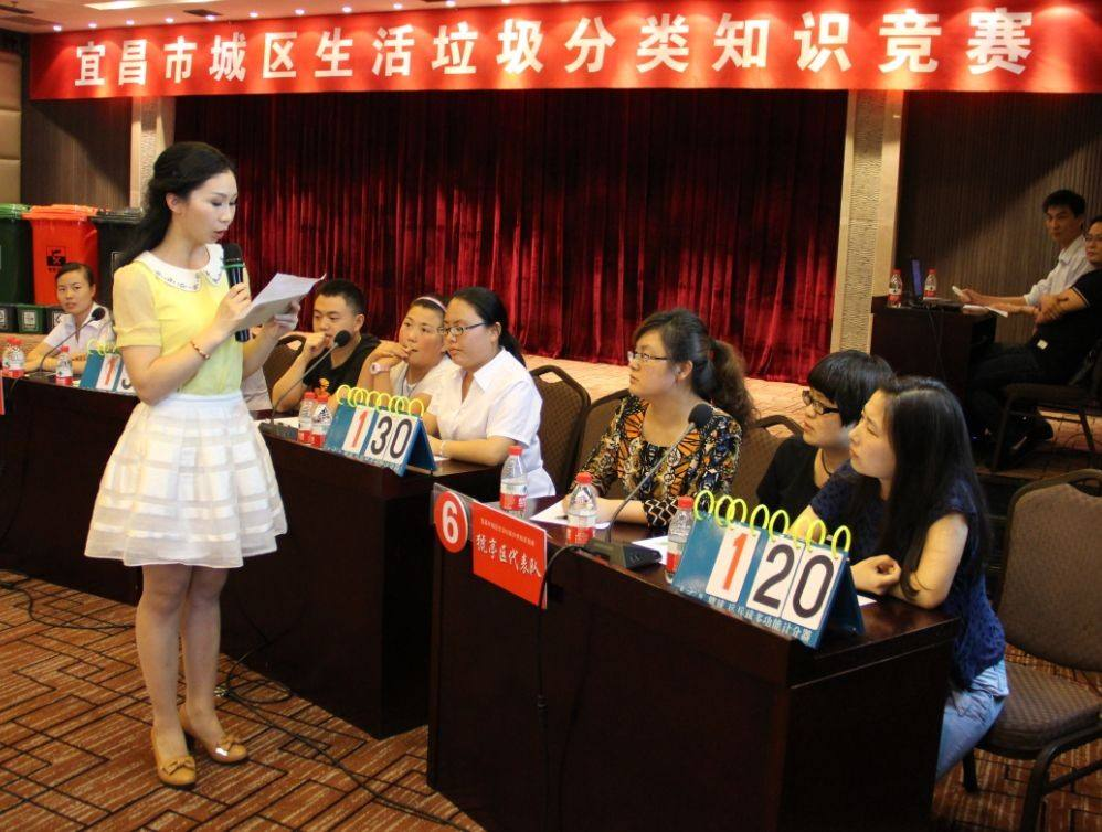 宜昌市城管委举办城区生活垃圾分类知识竞赛