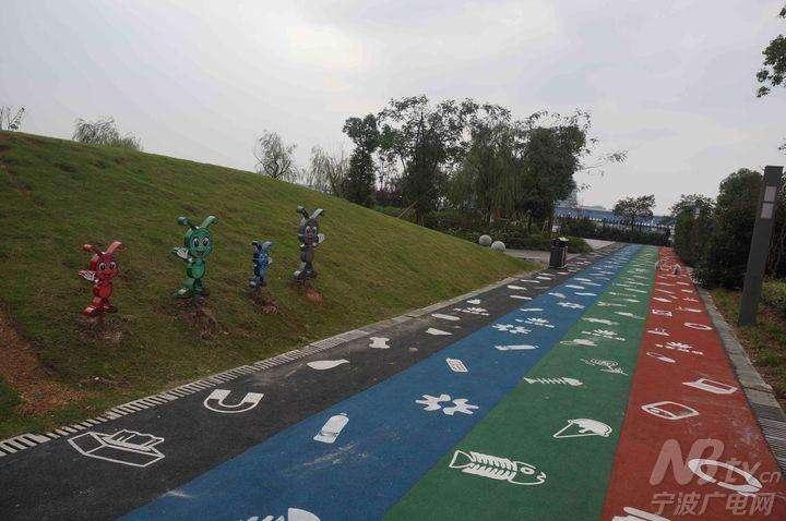 宁波首个垃圾分类主题公园开园了!约吗?