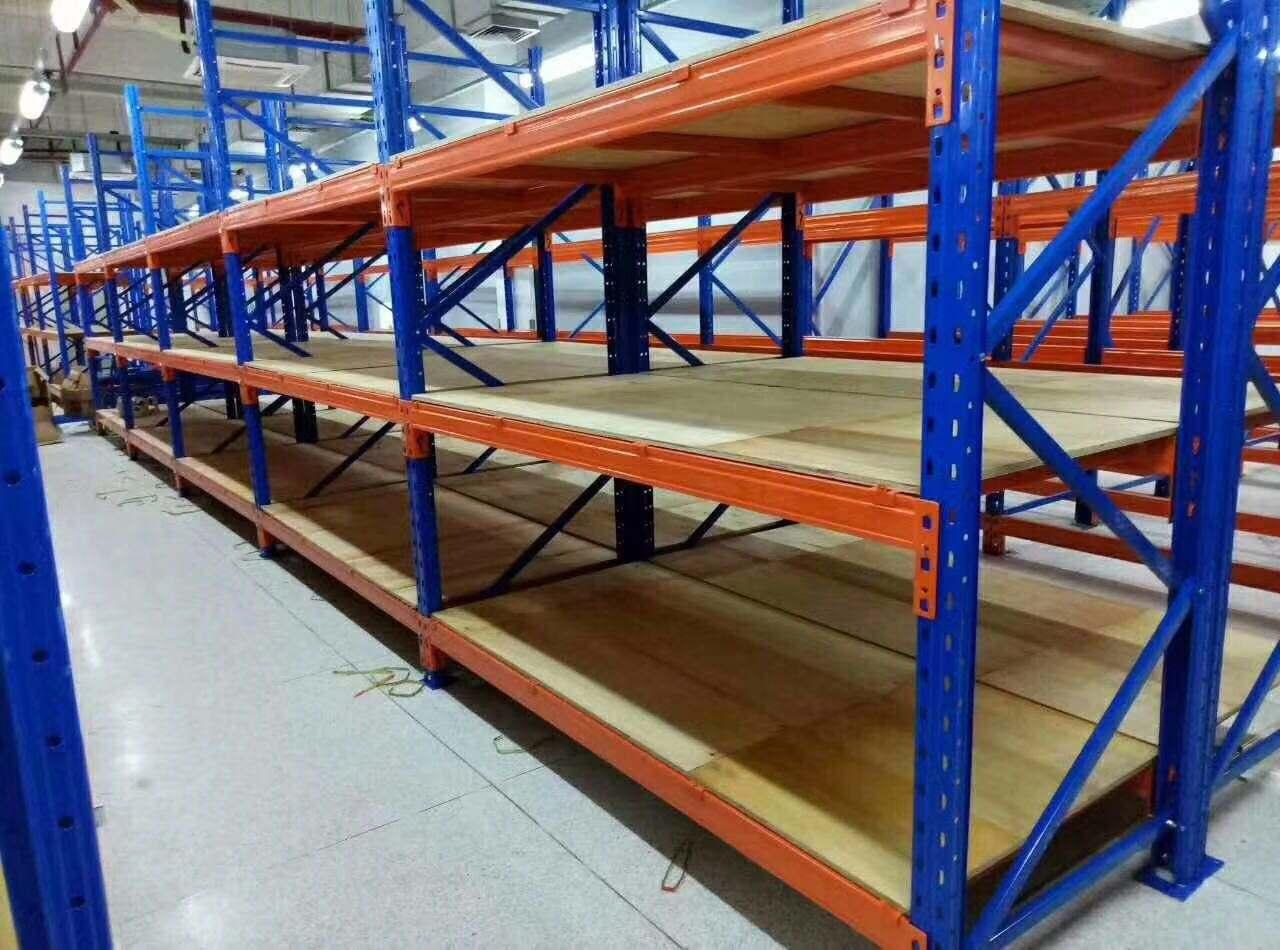 重型层板货架安装