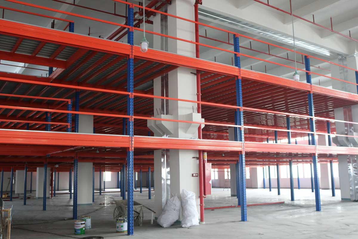 仓库钢结构平台阁楼货架
